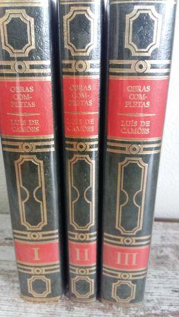 Livros obras completas Luís de Camões