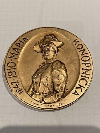 Medal Maria Konopnicka 1985. Mennica Państwowa