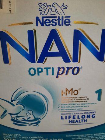 Питание Nan optipro 1