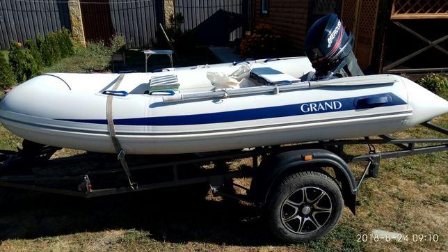 Лодка Grand RIB-3.30, мотор Mercury 25 и лафет