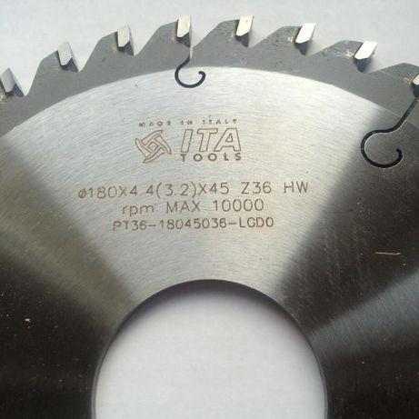2x Podcinak (podrzynak, piła) ITA TOOLS Fi180x4,4(3,2)x45 Z36