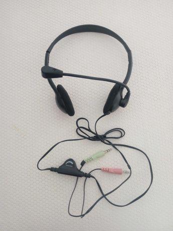 Auriculares Gaming com controlo de volume. NOVO!
