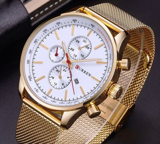 Часы мужские наручные Curren 4 Цвета
