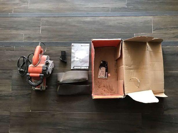 Lixadora Black & Decker lixadeira rolo fita
