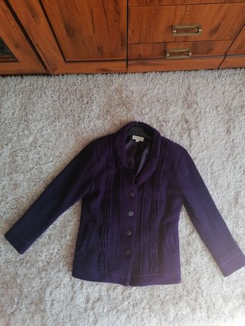 Damska kurtka fioletowa rozm 12