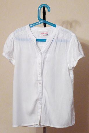 Białe koszule dziewczęce 5.10.15 Lincoln&Sharks 152,158
