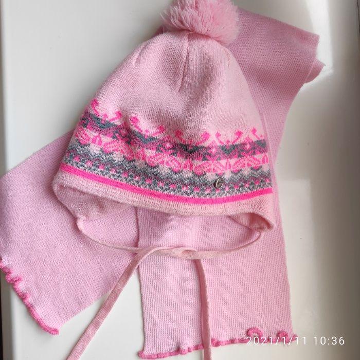 Шапка+шарф GABBI,зима,3 года,на флисе,в идеале Харьков - изображение 1