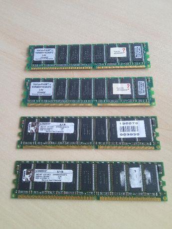 2 Módulos de Memória ECC DIMM DDR400 512M