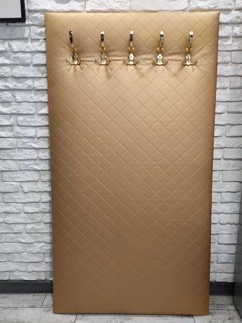 Meble wieszak tapicerowany panel HI