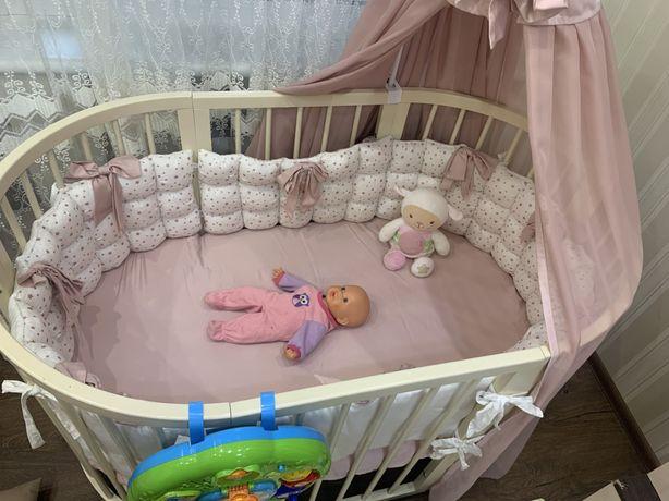 Кроватка детская 7в 1