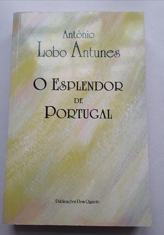 Livro: O Esplendor de Portugal, de António Lobo Antunes, como novo!