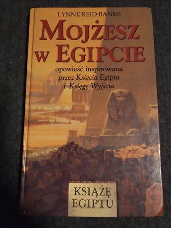 """""""Mojżesz w Egipcie"""" Lynne Reid Banks książka religijna Egipt"""
