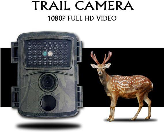 Nowa FOTOPUŁAPKA 12MP 1080p 120 stopni tryb nocny noktowizyjna kamera