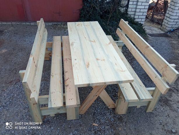 Садовая мебель.Лавки столы,стулья.2500грн.