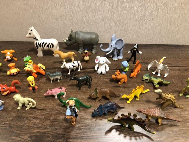 Набор фигурок животных (20 шт.)