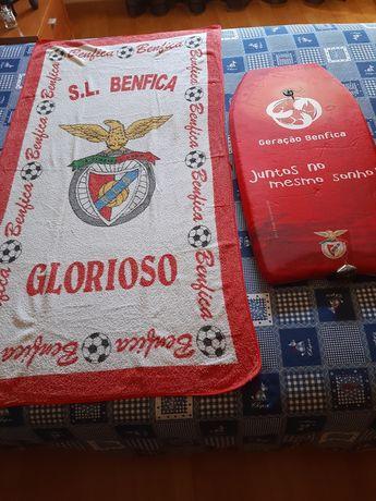 Prancha nova e toalha praia SLB/ Benfica