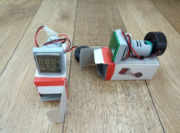 Цифровой индикатор 2/1 вольтметр ,амперметр