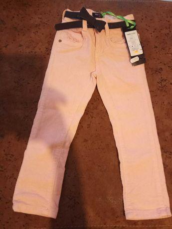 Nowe spodnie dziewczęce rozm. 98