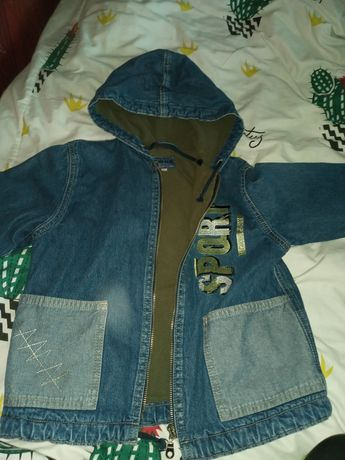 Джинсова куртка для хлопчика