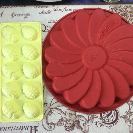 Форма Delicia Tescoma силиконовая для кекса, торта