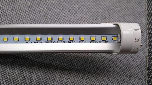 Świetlówka LED T8 aluminiowa 23W 2100lm 1500mm