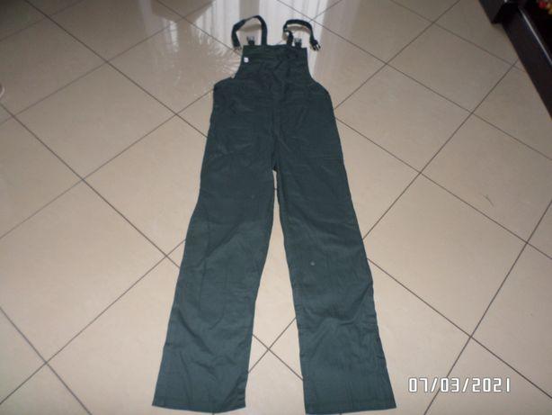 męskie spodnie robocze-ogrodniczki-M/L