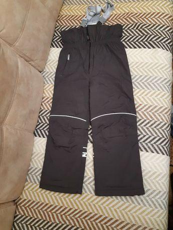 Напівкомбінезон штани Lenne 122+6 коричневі