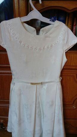 Elegancka biała sukienka 134