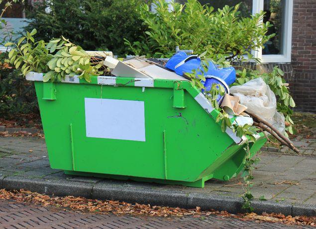 Kontener Na Odpady Gruz Śmieci Worki Big Bag MARKI ZIELONKA KOBYŁKA