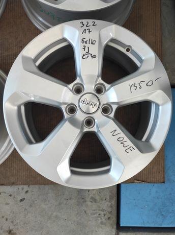 322 Felgi aluminiowe JEEP R 17 5x110 NOWE