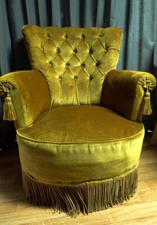 Senhorinha Amarela Antiga - Vintage