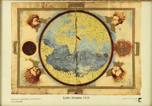"Cartografria ""Portugaliae Monumenta Cartographica INCM"" Ed SEMANARIO"