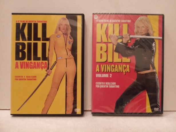 KILL BILL, A Vingança ( dvd 1 e 2 )