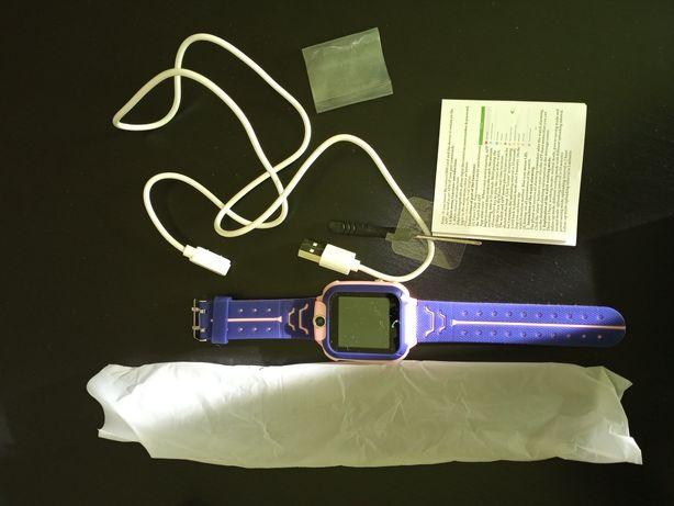Relógio smartwatch com câmera e telefone