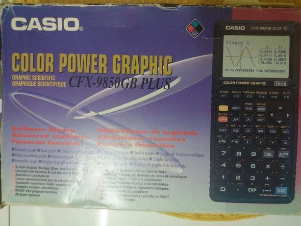 Casio Kalkulator Kolorowy Graficzny Naukowy -CFX-9850GB Plus 32KB