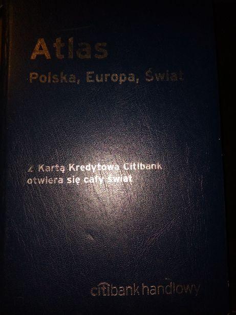 Atlas Polska, Europa, Świat