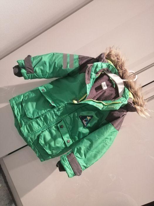 Kurtka zimowa narciarska sportowa h&m 98 104 Mikołów - image 1
