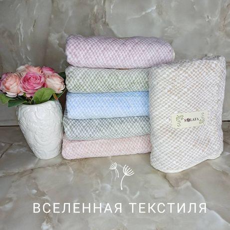 Банные и метровые полотенца Нежность люкс микрофибра