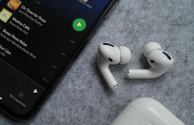 Оригинальные наушники AirPods Pro для iPhone 7 8 X 11 12 !ДРОПШИППИНГ
