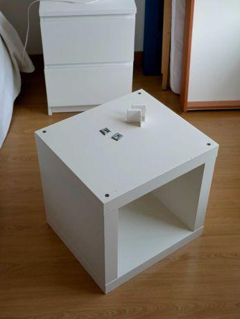 Cubo IKEA KALLAX branco