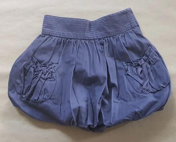 Reserved śliwkowa spódnica bombka, rozmiar 104