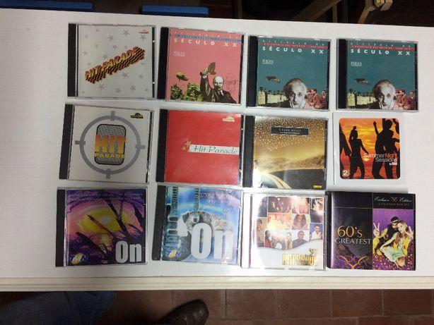 13 cd's de musica