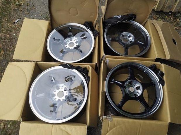 Новые , разноширокие диски 5Zigen FN01R-C r17 5*114,3 8j/9j JDM Drift