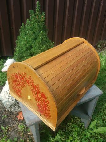 Хлебница деревянная б/у