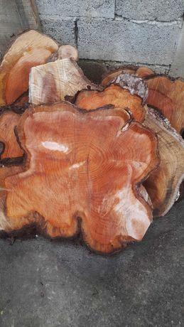 Rodelas de madeira