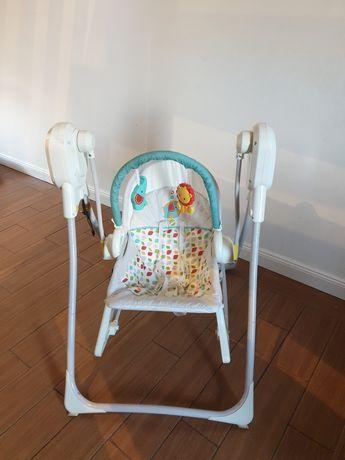 Bujaczek, huśtawka elektryczna, krzesłko Fisher Price