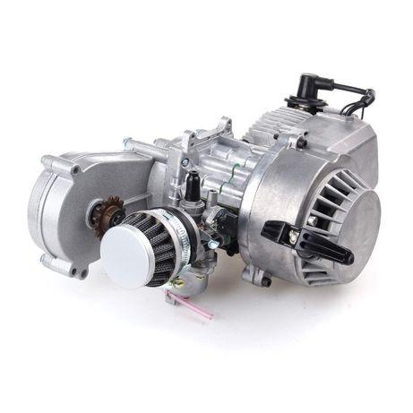 Двигатель с редуктором на мини мото 49сс покет пит байк pocket pit atv