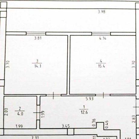 Продам 1 комнатную квартиру в Зеленом Мысе