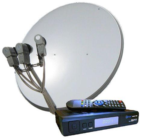 Продам полный комплект спутникового оборудования