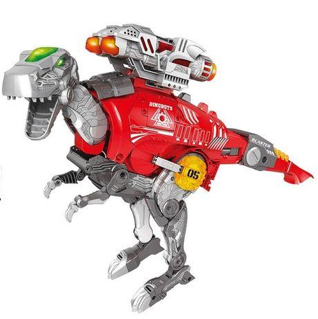 Динобот - трансформер Тираннозавр Dinobots 2в1 робот-бластер